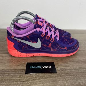 Nike - Free 5.0 Lava - Youth 4 - 807594-506